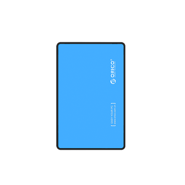 ORICO EXTERNAL HDD ENCLOSURE BLUE