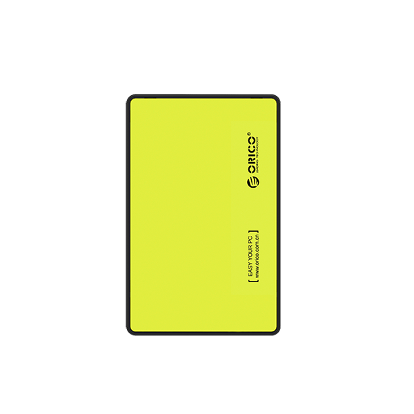 ORICO EXTERNAL HDD ENCLOSURE YELLOW