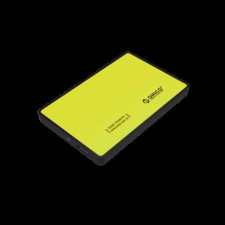 ORICO EXTERNAL HDD ENCLOSURE YELLOW
