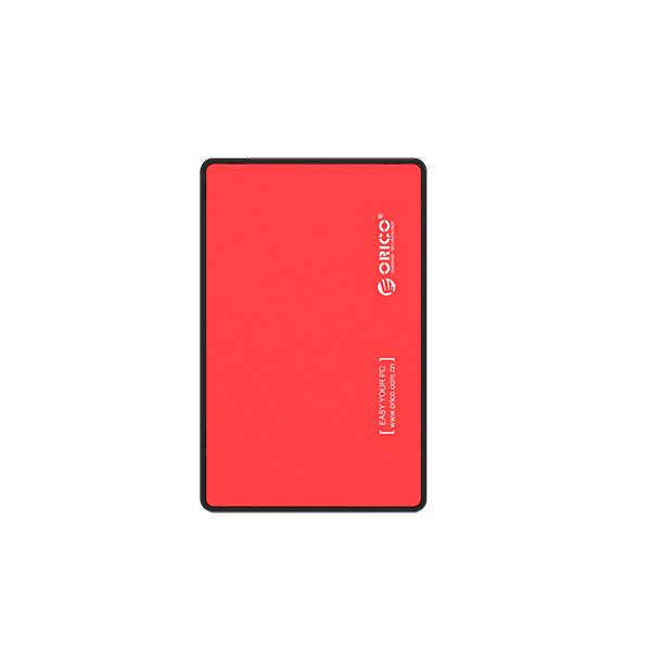 ORICO EXTERNAL HDD ENCLOSURE RED