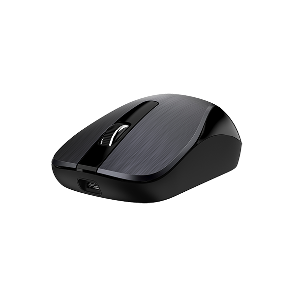 GENIUS RECHARGABLE OPTICAL WIRELESS MOUSE IRON GRAY