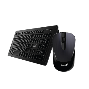 GENIUS SLIMSTAR 8008 KEYBOARD AND MOUSE