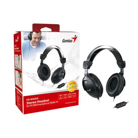 GENIUS HS-M505X HEADSET WITH MICROPHONE