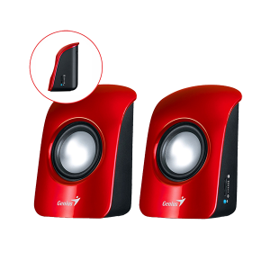 GENIUS SPEAKER, SP-U115 USB RED