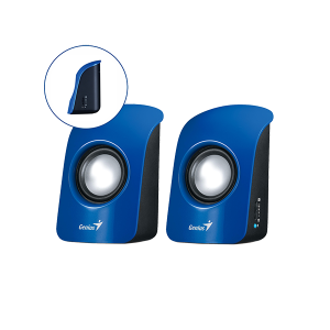 GENIUS SPEAKER, SP-U115 USB BLUE