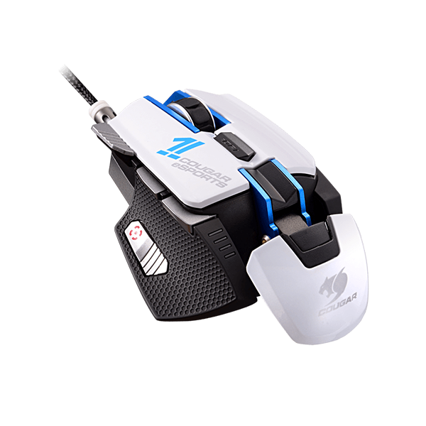 e336872df25 COUGAR 700M ESPORTS USB LASER 8200DPI RIGHT-HAND WHITE GAMING MOUSE
