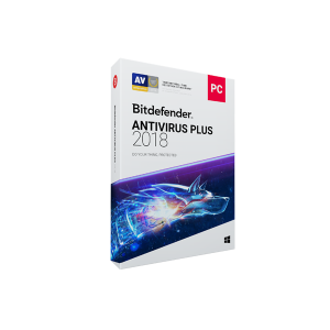 BITDEFENDER ANTI-VIRUS 2018 - 1 YEAR, 2