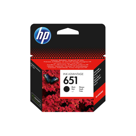 HP 651 BLACK INK ADVANTAGE CARTRIDGE