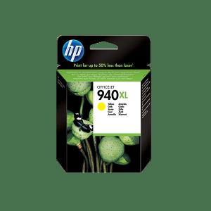 HP 940XL HIGH YIELD YELLOW INK CARTRIDGE