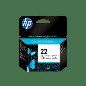 HP 22 TRI COLOR ORIGINAL INK CARTRIDGE