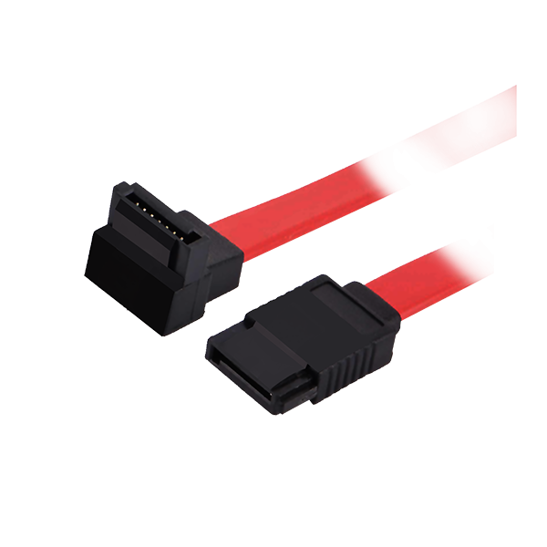 SATA DATA CABLE 45CM WITH ONE 90 DEGREE