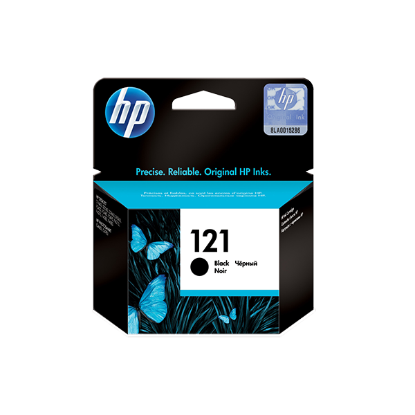 HP 121 BLACK ORIGINAL INK CARTRIDGE
