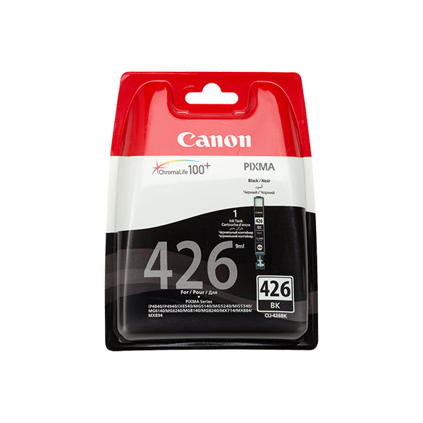 CANON CLI426 BLACK INK CARTRIDGE