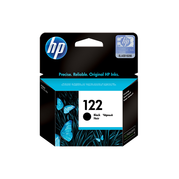 HP 122 BLACK ORIGINAL INK CARTRIDGE