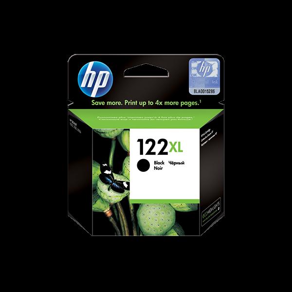 HP 122XL HIGH YIELD BLACK ORIGINAL INK CARTRIDGE
