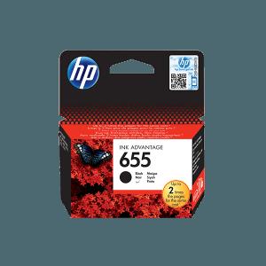 HP 655 BLACK INK ADVANTAGE CARTRIDGE
