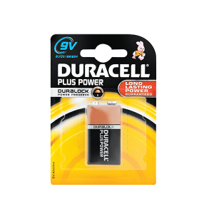 DURACELL PLUS POWER 9V SINGLE