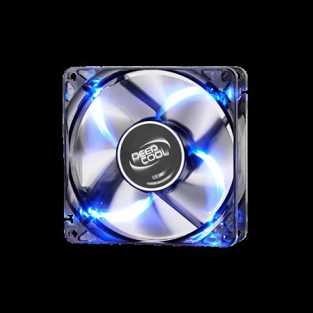 DEEPCOOL WIND BLADE 120MM SILENT BLK W/BLUE LED