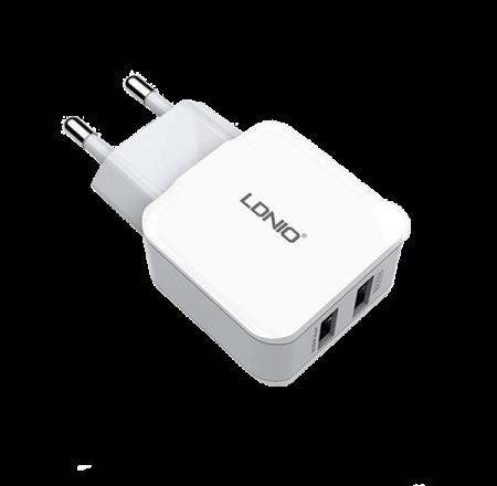LDNIO 5V/2.4A DUAL PORT USB AC CHARGER