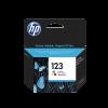 HP 123 TRI-COLOR ORIGINAL INK CARTRIDGE