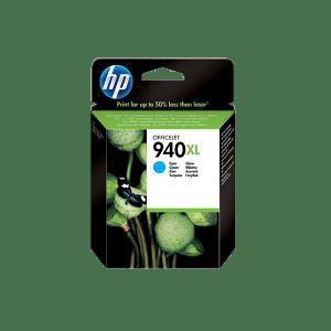 HP 940 XL HIGH YIELD CYAN ORIGINAL INK CARTRIDGE