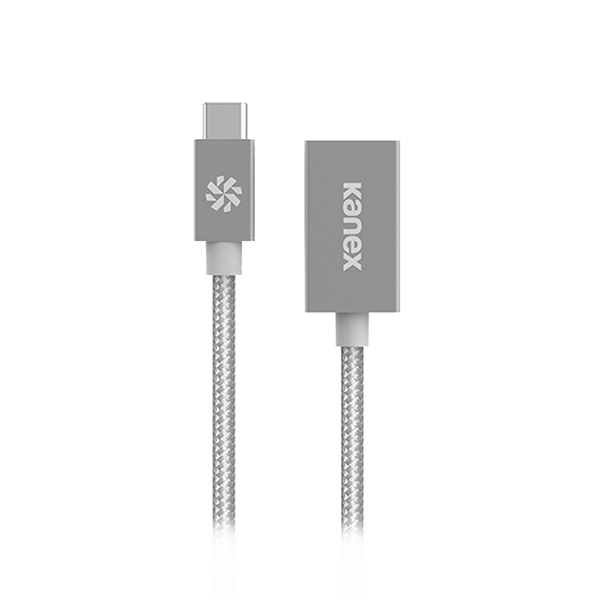KANEX USB-C TO USB3.0 ADAPTER SILVER