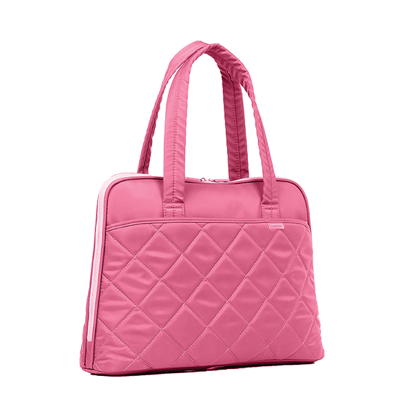 KINGSONS LADIES IN FASHION PINK LAPTOP BAG