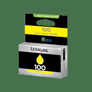 LEXMARK 100 YELLOW STD YIELD INK CARTRIDGE