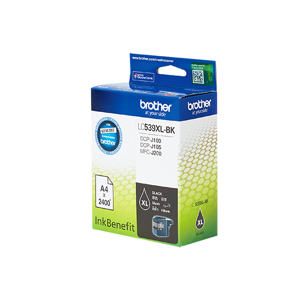 BROTHER HIGH YIELD BLACK INK FOR CARTRIDGE
