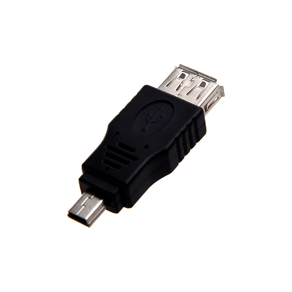 MINI MALE USB TO FEMALE USB