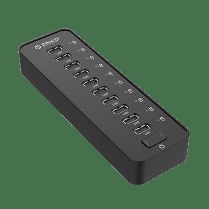 ORICO 10 PORT USB2.0 HUB