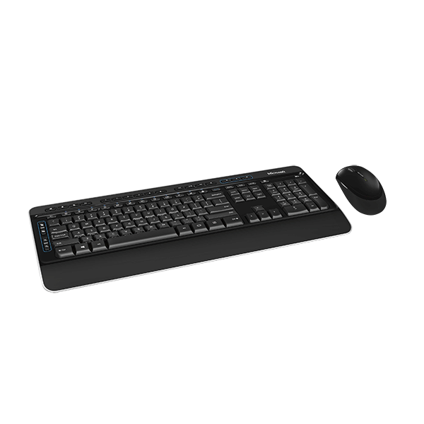 MICROSOFT 3050 WIRELESS KEYBOARD AND MOUSE