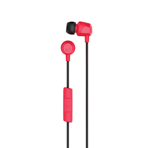 SKULLCANDY JIB IN-EAR EARBUDS RED