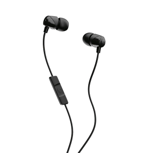 SKULLCANDY JIB WITH MIC BLACK