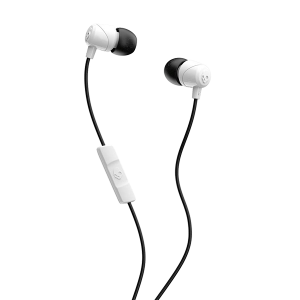 SKULLCANDY JIB WITH MIC WHITE/BLACK
