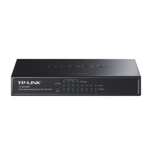 TP LINK TL-SF1008P 8-PORT 10/100MBPS DESKTOP SWITCH WITH 4-PORT PoE