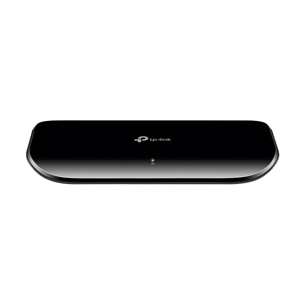 The TP-Link 8-Port Gigabit desktop switch TL-SG1008D provides you an easy way to make the transition to Gigabit Ethernet. Increase the speed of your network ...