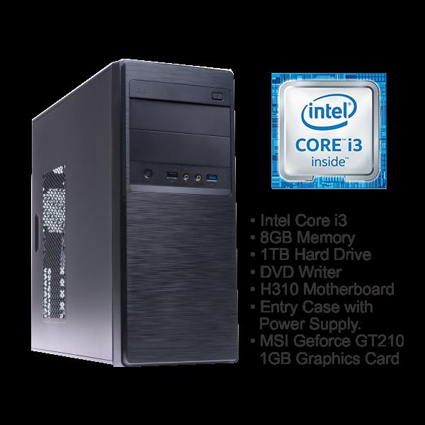 TORNADO I3 PRE-BUILD DESKTOP PC