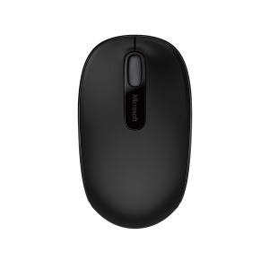MICROSOFT 1850 BLACK WIRELESS MOBILE MOUSE