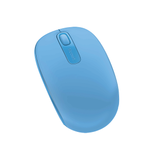MICROSOFT 1850 CYAN BLUE WIRELESS MOBILE MOUSE