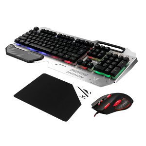 VX GAMING KEYBOARD, MOUSE AND MSPAD COM