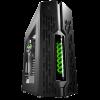 DEEPCOOL GENOME COMPUTER CASE BLACK/GREEN