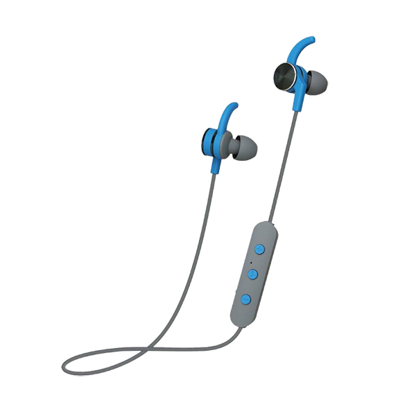 809f05255ae POLAROID BLUETOOTH IN EARS HEADPHONES GREY AND BLUE