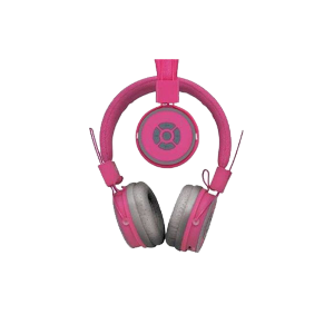 POLAROID COMPACT BLUETOOTH HEADPHONES PINK