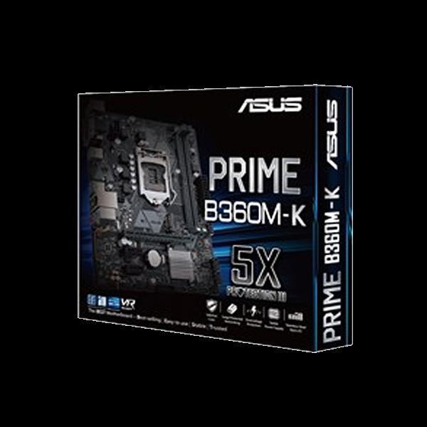 ASUS PRIME B360M-K MOTHERBOARD 8TH GEN