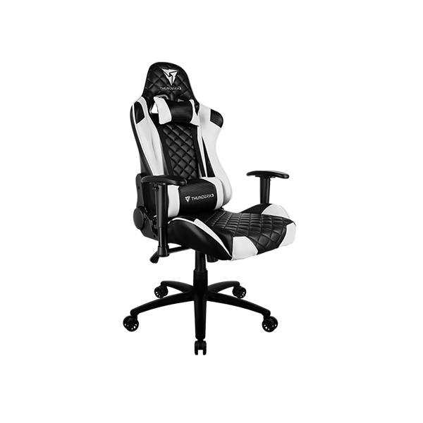 THUNDERX3 BLACK AND WHITE GAMING CHAIR