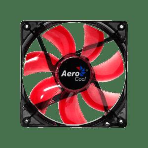 AEROCOOL LIGHTNING 12CM RED LED FAN