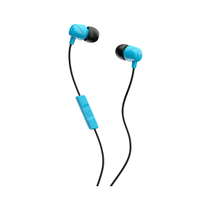 SKULLCANDY JIB IN EAR HEADPHONES BLUE & BLACK