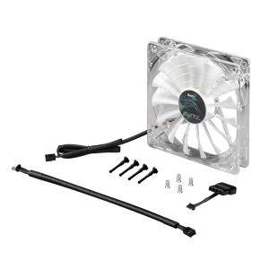 AEROCOOL SHARK FAN 12CM GREAT WHITE