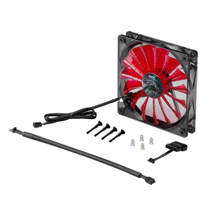 AEROCOOL SHARK FAN 14CM DEVIL RED